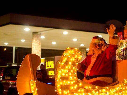 The Ashland City Christmas Parade takes place Dec. 2.