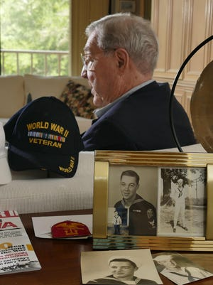 World War II veteran Charles Pritchett talks about his experiences as a sailor and radio operator aboard a troop transport. His service in the Navy included participating in the battle for Okinawa.