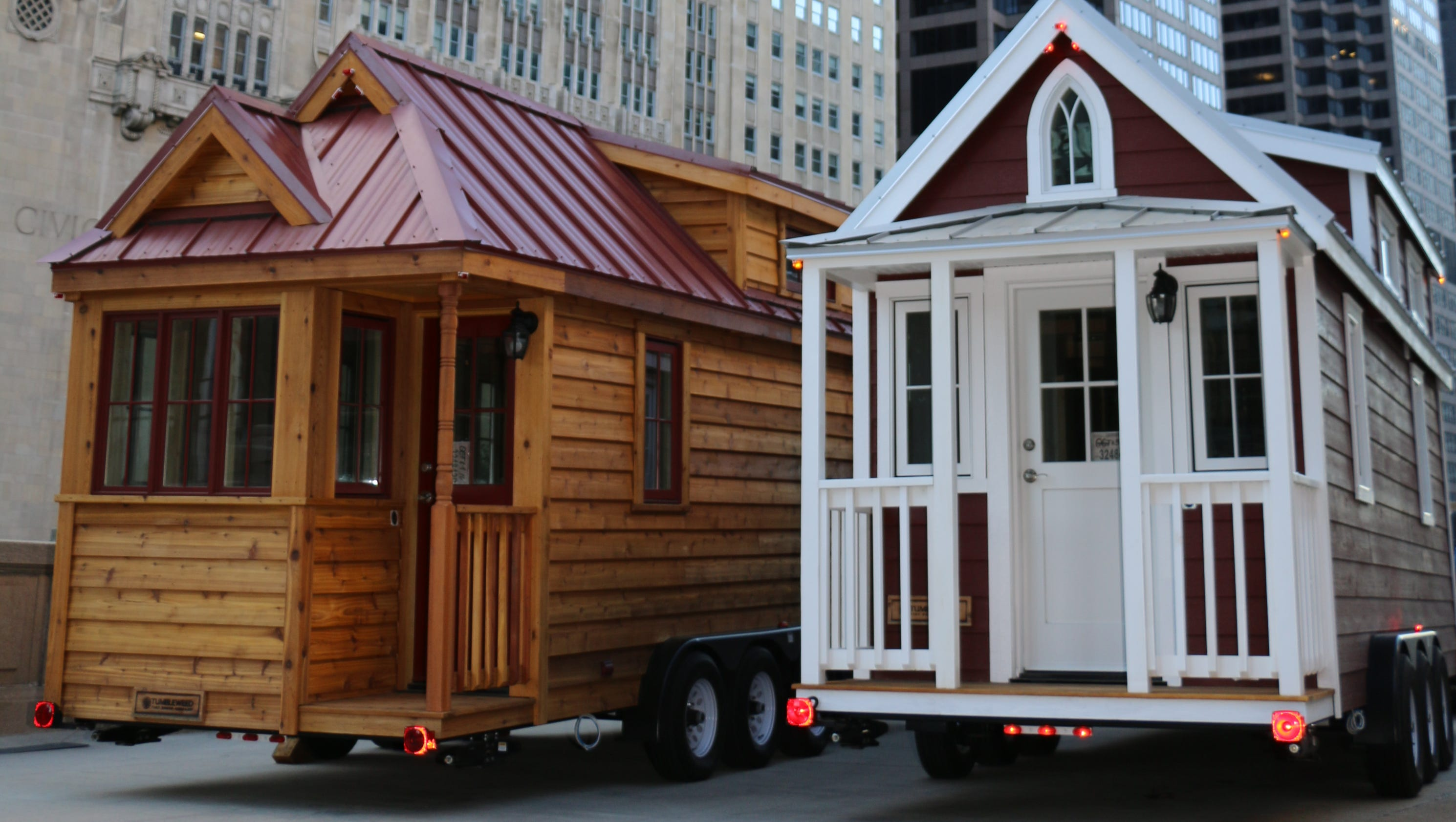 Traveling 'tiny Houses' Make Stop In Mesa