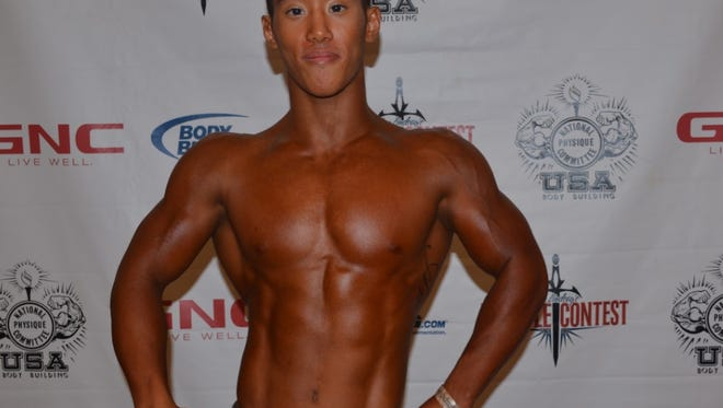 Kevin Nguyen, a 2013 Port Huron Northern graduate, is competing in body building in California.