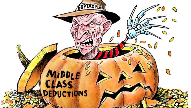 GOP Tax Plan and middle class
