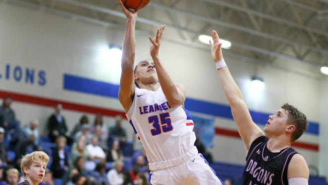 Leander forward Noah Robledo leads a tall and talented team that dropped down to Class 5A in the UIL's biennial realignment earlier this year.