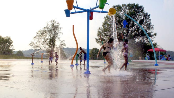 With temperatures expected to be in the 90s on Monday, maybe cooling off in a local water park isn't such a bad idea.