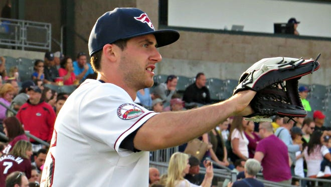 Vinny Zarrillo, a Forked River native, has proven to be clutch for the Somerset Patriots.