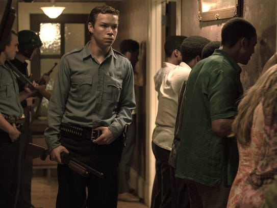 """Will Poulter as Officer Krauss in """"Detroit."""""""