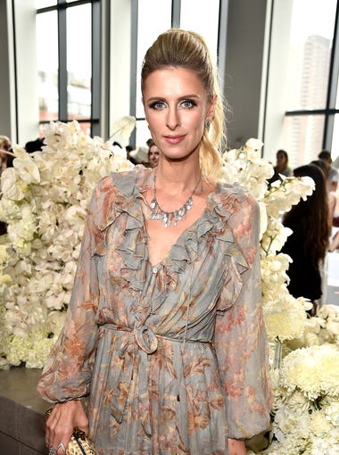 Nicky Hilton hit up her second show of the day.