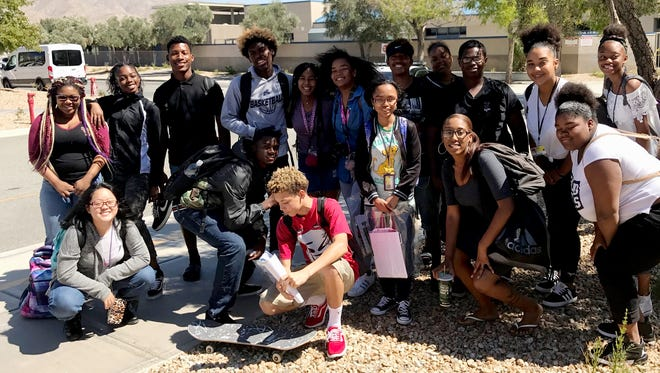 Desert Hot Springs High School students recently explored enrollment opportunities at historically black colleges at a fair in San Bernardino.
