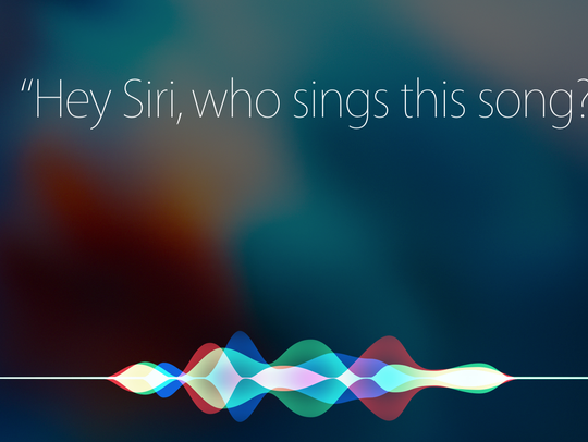 Siri can now name songs, via Shazam.