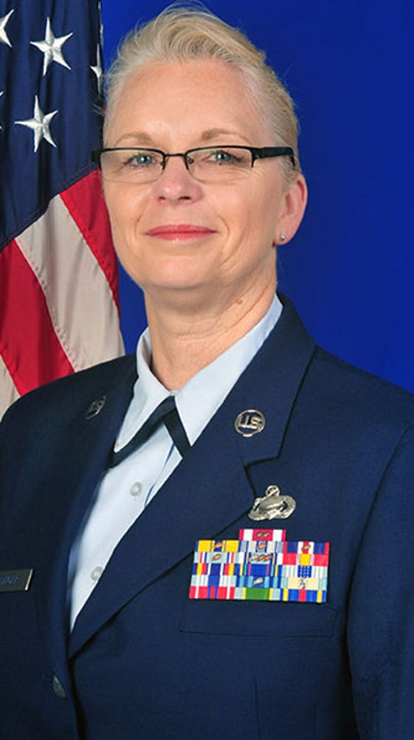 Chief Master Sgt. Patricia A. Ottinger became the state