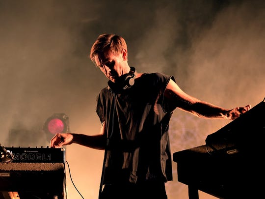 """Richie Hawtin performs his """"Close"""" show at the first"""
