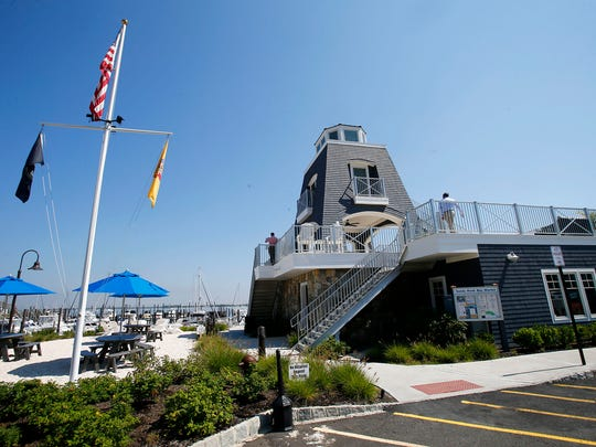 The Sandy Hook Bay Marina, developed by James Bollerman,
