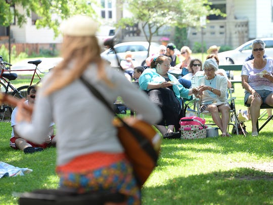 Summer in the Park returns to Whitney Park.
