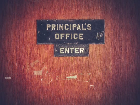 Retro Grunge Principal Office