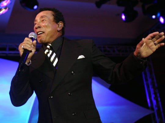 Saturday: Smokey Robinson performs at Agua Caliente Resort Casino Spa