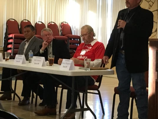 Sheriff faces opponents