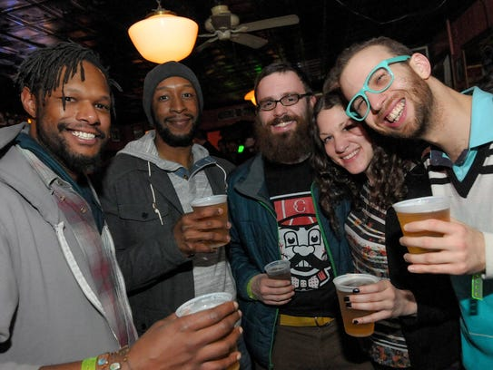 Attendees at the 2015 Hamtramck Music Festival.