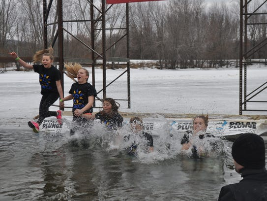 Plunging into icy water is a shock to one's system.