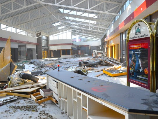 The CenterPoint MarketPlace mall in Stevens Point was