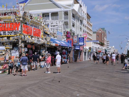 A rainy start to Labor Day Weekend left Ocean City