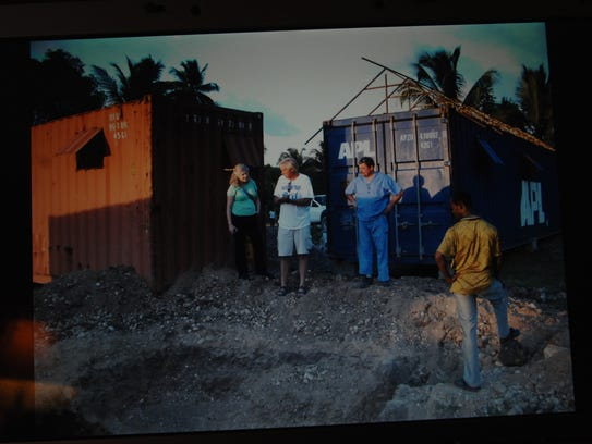 Jan. 28, 2010: Andrew Topp just returned from Les Cayes,