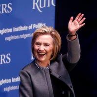 Hillary Clinton due to appear Monday at Sen. Bob Menendez fundraiser in Jersey City