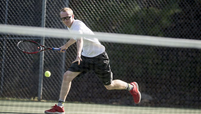 Roberson senior Coleman Baker has committed to play college tennis for Methodist.