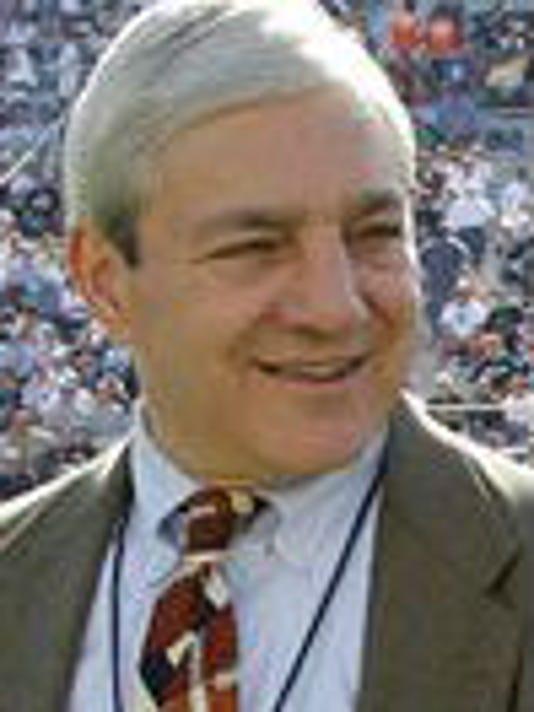 Former Penn State University president Graham Spanier was interviewed Friday in Philadelphia by investigators for former FBI director Louis Freeh.