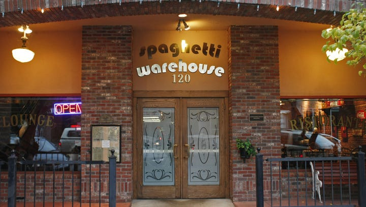 Spaghetti Warehouse, located at 120 Commercial St.