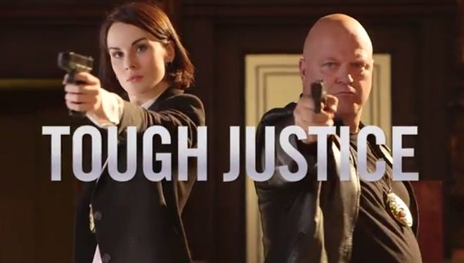 Michelle Dockery and Michael Chiklis star in Funny or Die's latest video.