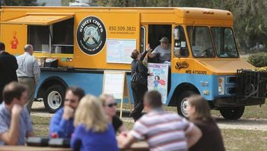 Food Truck Thursday is a family-friendly event that happens every week at Lake Ella.