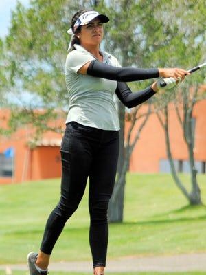 Emma Mesta Garcia wins the amateur championship at Santa Ana.