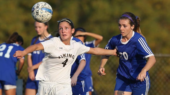 Clarkstown South and Pearl River played to a 0-0 tie
