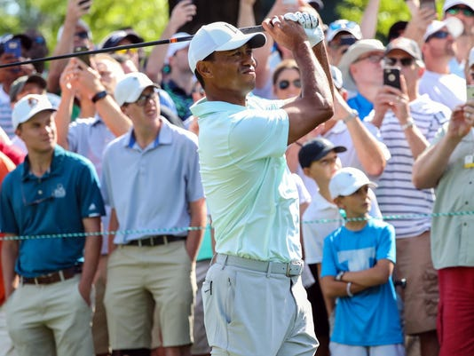 PGA: Wells Fargo Championship - Second Round