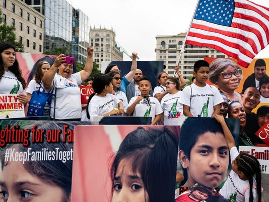 EPA USA IMMIGRATION RALLY POL IMMIGRATION CITIZENS INITIATIVE & RECALL USA DC