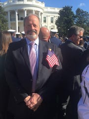 El Paso Mayor Oscar Leeser was among those invited to see Pope Francis in Washington, D.C., on Wednesday.