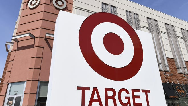 FILE - This March 18, 2020 file photo, shows a view of the Target store in Annapolis, Md. Target is joining Walmart in closing its stores on Thanksgiving Day, ending a decade-long tradition of jump starting Black Friday sales. The move, announced Monday, July 27 comes as stores are rethinking the Black Friday in-store door busters as they try to curb the spread of the coronavirus, which has seen a resurgence in a slew of states.