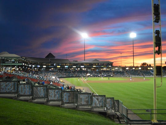 FirstEnergy Park, where the Lakewood BlueClaws play.