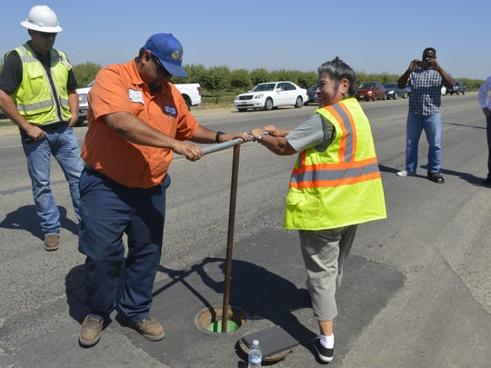 "Tulare City Worker Erminio ""Chuco"" Gonzalez and Reyna"