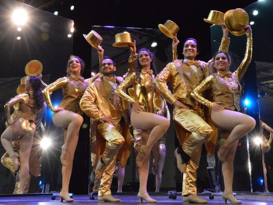 """The UTEP Dinner Theatre will present """"A Chorus Line"""" starting Friday. The musical is known for such hits as """"One"""" and """"What I Did for Love."""""""