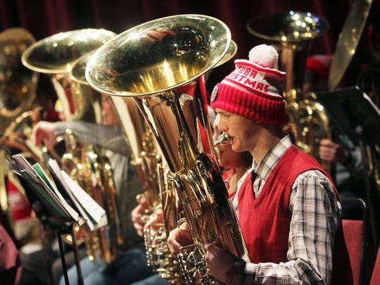 Salem Tuba Holiday will be on Christmas Eve, Monday, Dec. 24, at the Elsinore Theatre.