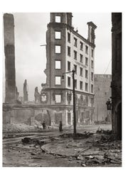 The 1906 San Francisco earthquake left the city in