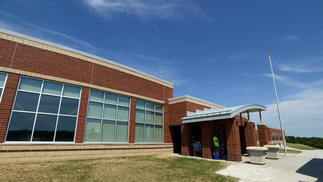 Gorsuch West Elementary School in Lancaster opened to students on Thursday, Aug. 20, 2015.