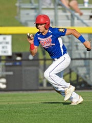Shippensburg's Cole Friese had one hit and scored two