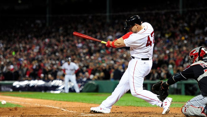 Travis Shaw batted .242 with 16 home runs and 71 RBI in 145 games for the Red Sox last season.