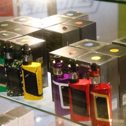 Vaping devices at Headdies.