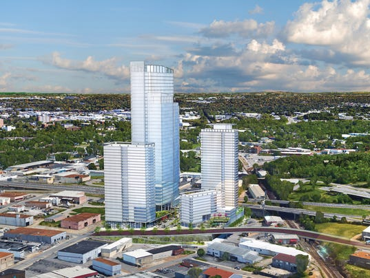 40 Story Project Seeks To Reshape Downtown Nashville S Skyline
