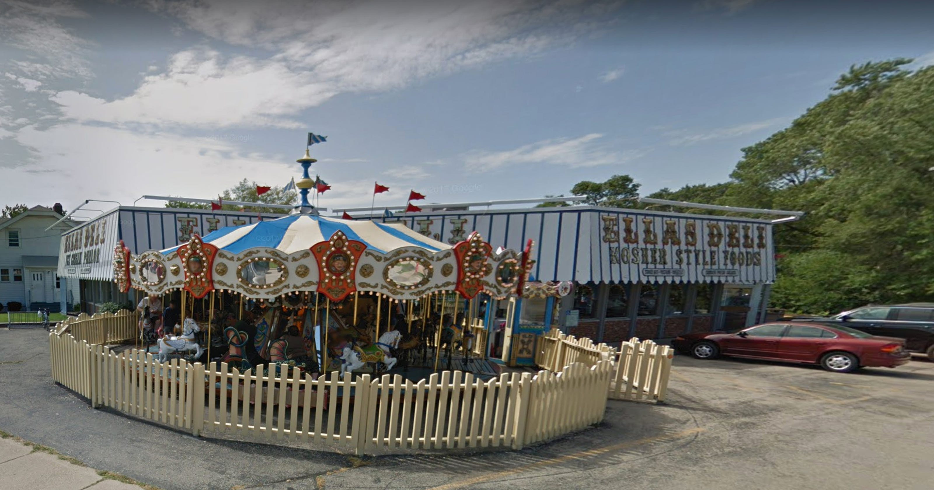 Epic bought the carousel that was in front of Ella's Deli in Madison