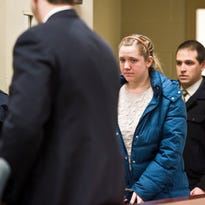 Para-educator Julianne Graham, 25, of Burlington appears in Vermont Superior Court  in Feb. 2015 for arraignment. The decision to dismiss three charges of sexual exploitation of a minor was recently upheld by the Vermont Supreme Court.