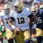 Notre Dame football's projected spring depth chart