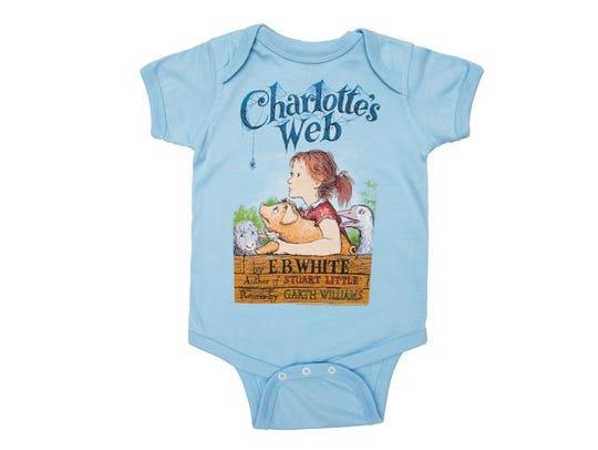 Charlotte's Web bodysuit
